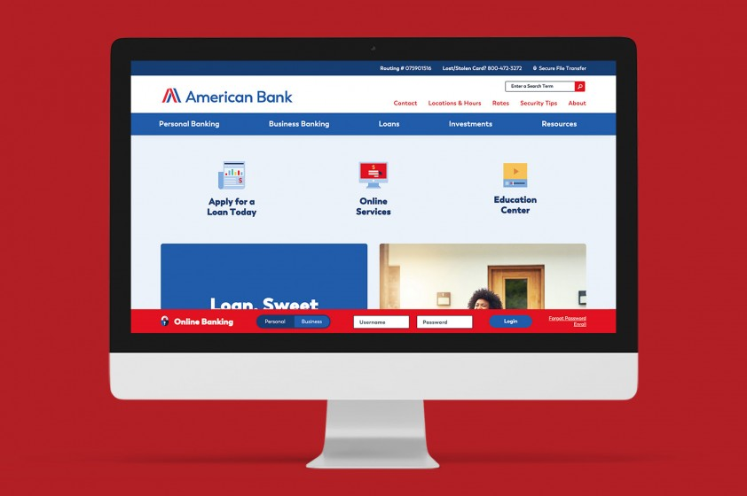 Bank website leaps brand obstacles in a single bound