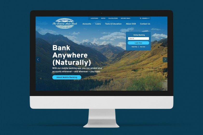 New bank website is a thing of beauty