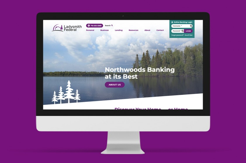 Refreshed bank website benefits residents and repeat visitors