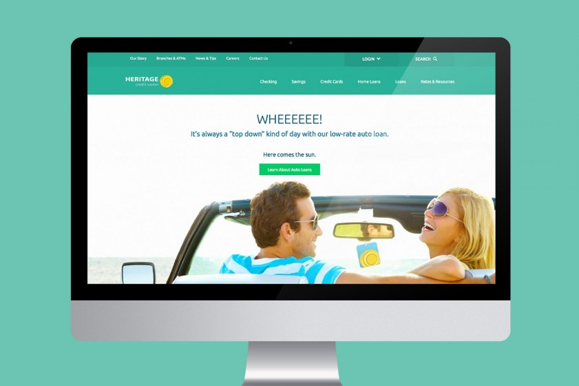New credit union website boasts strategic bells and whistles
